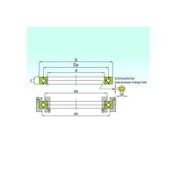 AXW 30 + AXK 3047 SKF Rolamentos axiais