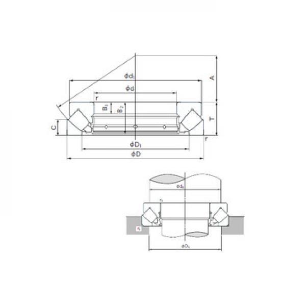 T811X Timken Rolamentos axiais