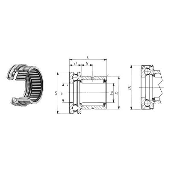 7602085-TVP FAG Rolamentos axiais de esferas